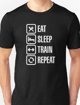 EAT, SLEEP, TRAIN, REPEAT